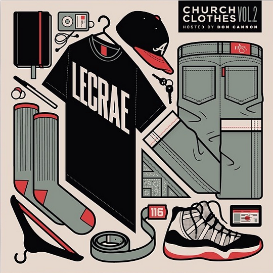 Lecrae - Church Clothes - Volume 2 - artwork