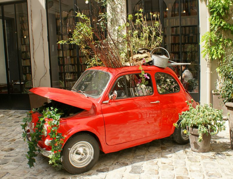 the terrier and lobster the merci paris fiat 500. Black Bedroom Furniture Sets. Home Design Ideas