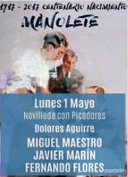 MADRID LAS VENTAS 01-05-2017. NOVILLADA