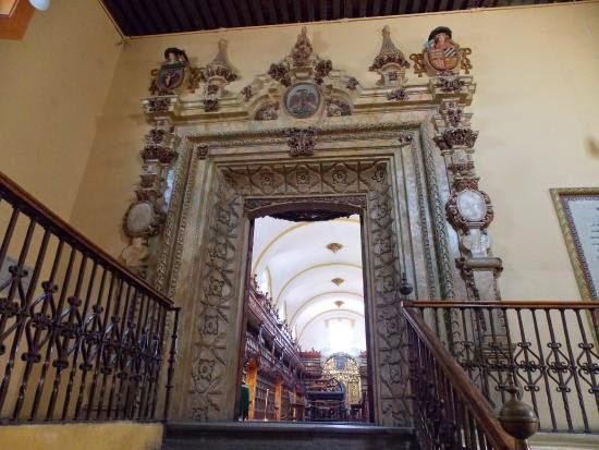 Una de las primeras Bibliotecas en Latinoamérica