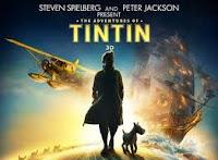 Cartel de la película Tintín y el secreto del unicornio