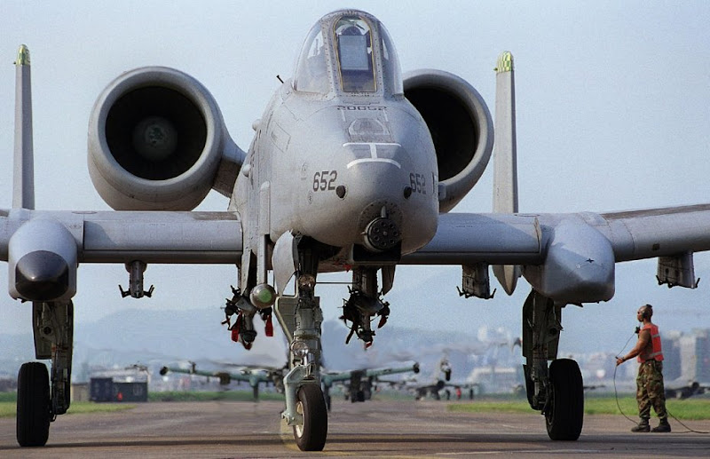 A-10 Thunderbolt II Ground Attack Aircraft