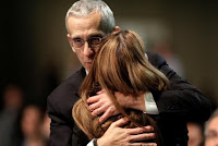U.S. climate envoy Todd Stern embraces Claudia Salerno of Venezuela, who represents a group of developing nations including China and Indonesia, at the closing session during the 19th conference of the United Nations Framework Convention on Climate Change (COP19) in Warsaw, November 23, 2013. (Credit: Reuters/Kacper Pempel) Click to Enlarge.