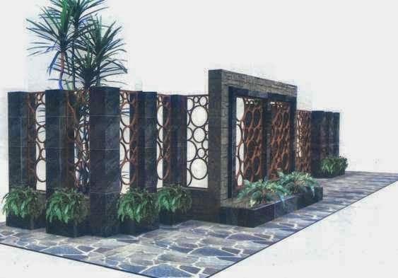 Gambar pagar rumah minimalis terbaru