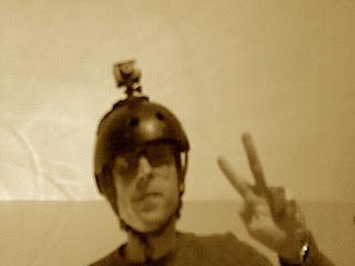 Telecamera sul casco