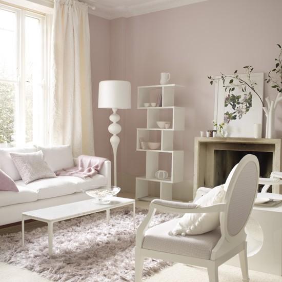 wohnzimmer rosa braun:EV DEKORASYON HOBİ: Küçük oturma odası için fikirler