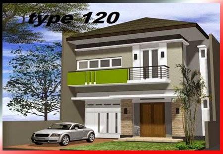 Desain Rumah Minimalis Type 120, Gambar Foto Desain Rumah