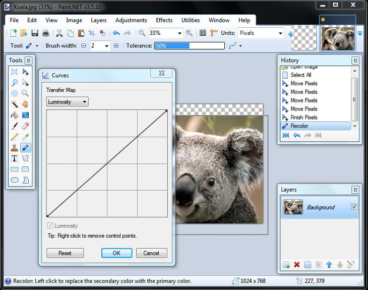 برنامج paint net لتعديل على الصور اخر اصدار
