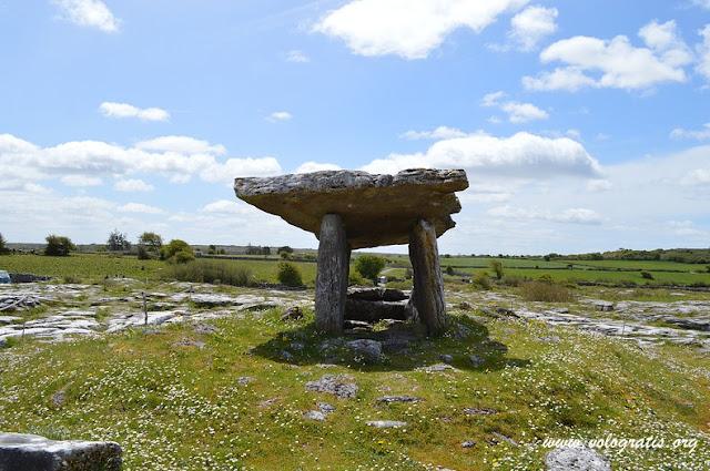 visitare nella contea di clare dolmen