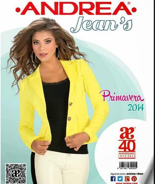 catalogo andrea jeans primavera 2014