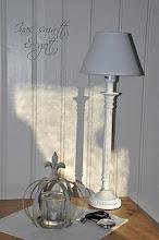 Min vackara lampa i sovrummet