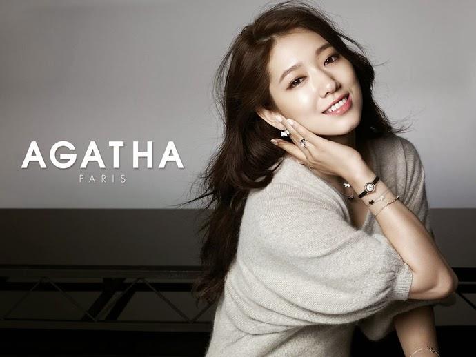 Park Shin Hye - Agatha Paris Fall Winter 2014