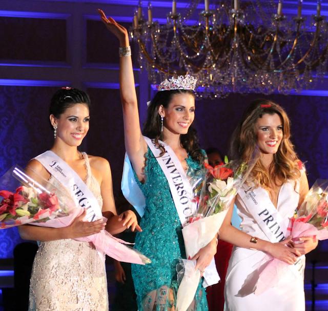 Miss Universe Chile 2013 winner Maria Jesus Matthei Molina