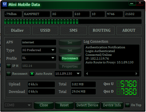 Download Mini Mobile Data V.1.4 Beta Full (MMD)