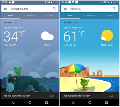 Google is Testing a New Redesigned Weather Card Interface