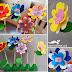 DIY -Egg Carton FLOWERS
