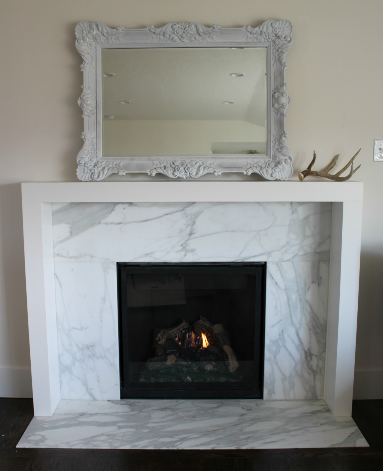 the granite gurus before after calacatta gold ForMarble For Fireplace Surround