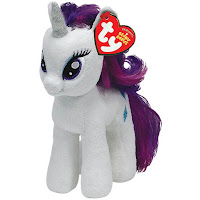 "Rarity 8"" Ty Plush"