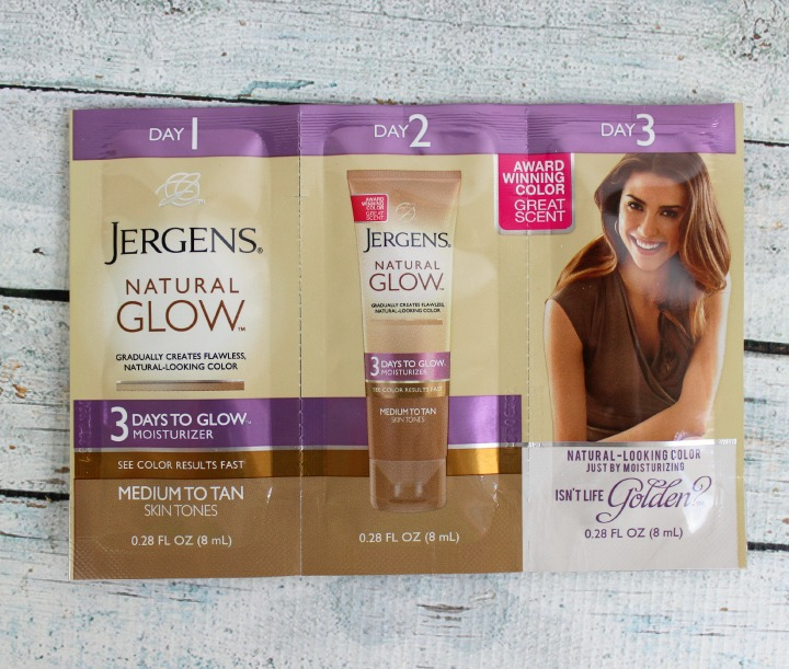 Jergens Natural Glow Daily Moisturizer - Medium to Tan sample