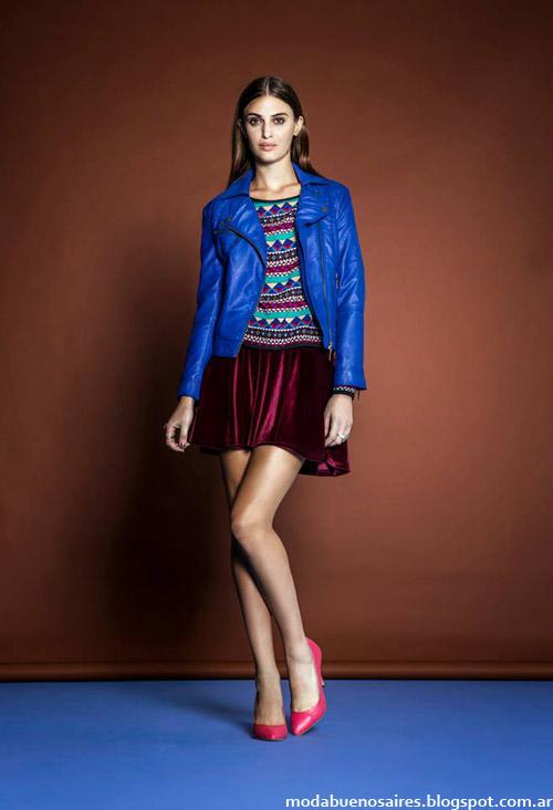 Moda Argentina otoño invierno 2014. Estancias Chiripá colección otoño invierno 2014.