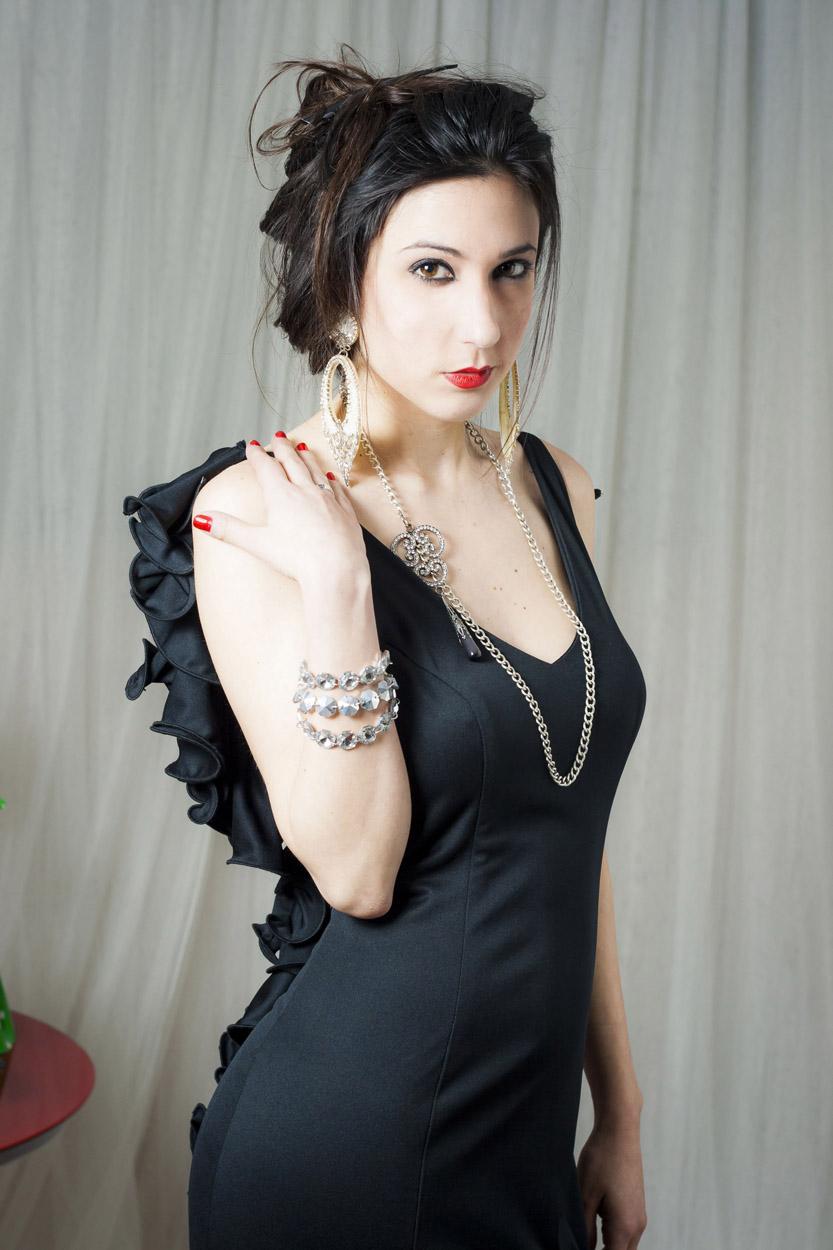 complementos para traje negro de flamenca