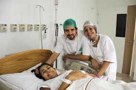 Nasceu o Danilo, em uma cesárea de emergência intra-parto!