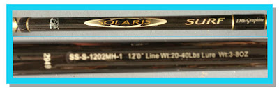 Graphite Surf Fishing Rod