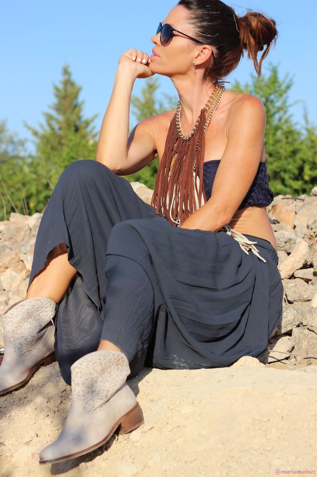 Indie Hippie - Maxi collar - Mi María Morena
