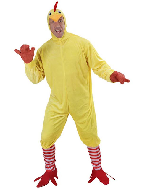 Bamse og kylling kostume