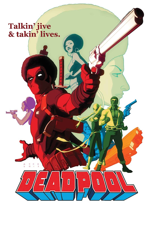 Deadpool Comic Book Covers