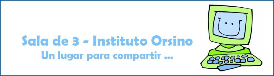 Instituto Orsino - Sala de 3