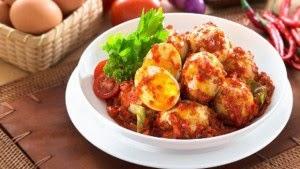 Resep Telur Balado Pedas