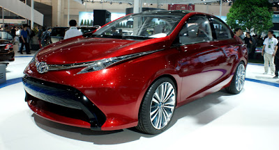 The front part very similar with the new concept car Toyota Furia