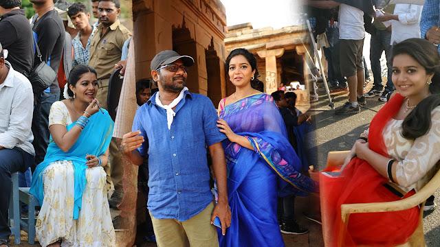 Tripura Movie Working Stills   Swathi   Naveen Chandra