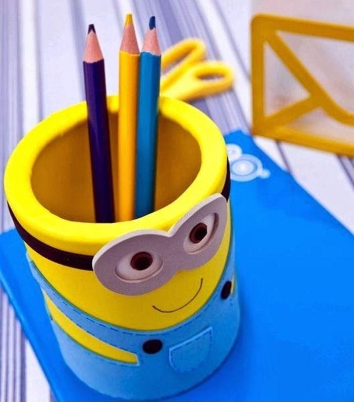 diy 3 tutoriels de pot crayons pour les kids initiales gg. Black Bedroom Furniture Sets. Home Design Ideas