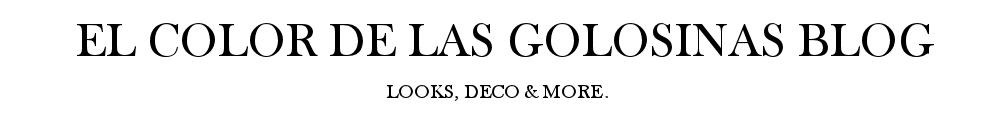 EL COLOR DE LAS GOLOSINAS