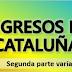 Se ingresan las segundas variables de los alumnos catalanes