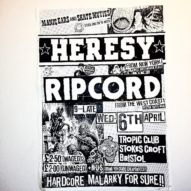Ripcord & Heresy