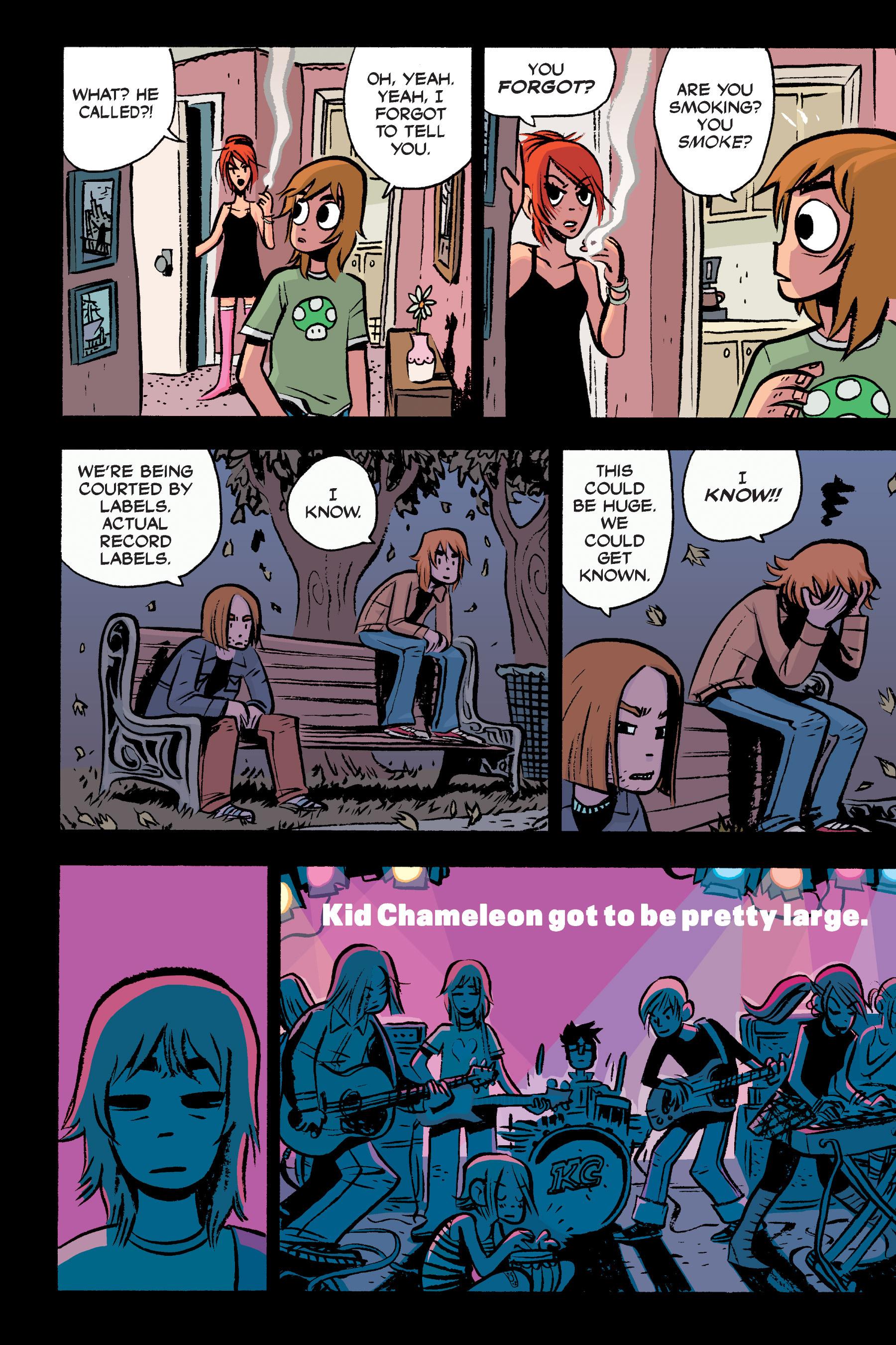 Read online Scott Pilgrim comic -  Issue #3 - 97