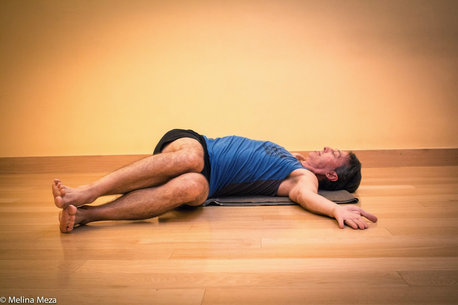 Featured Pose Reclined Twist