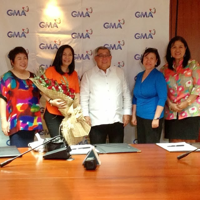 Maricel Soriano signs contract with GMA7