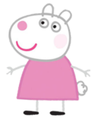 cartoon characters: peppa pig