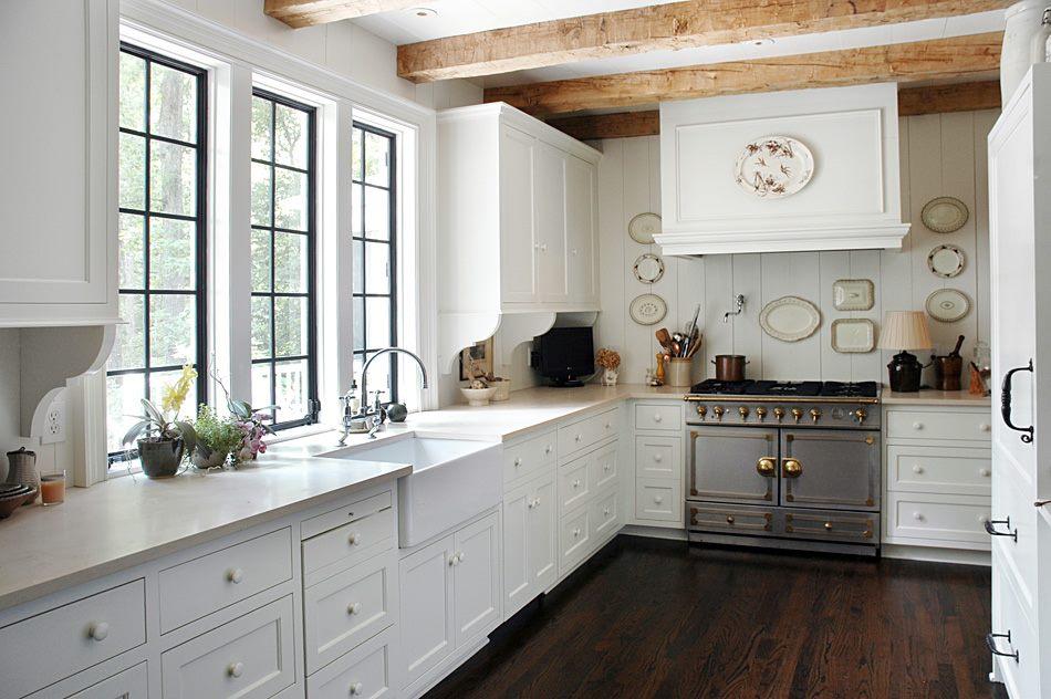 cocinas blancas clsicas pero actuales - Cocinas Clasicas Blancas
