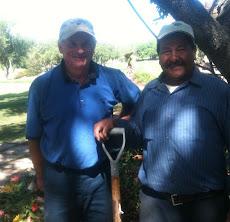 Gary Tupa (left)