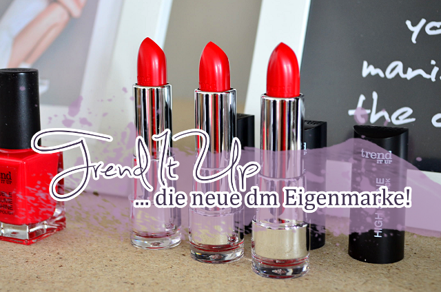 Trend It Up - die neue Kosmetikmarke bei dm