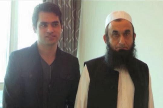 Maulana Tariq Jameel Met Veena Malik And Her Husband