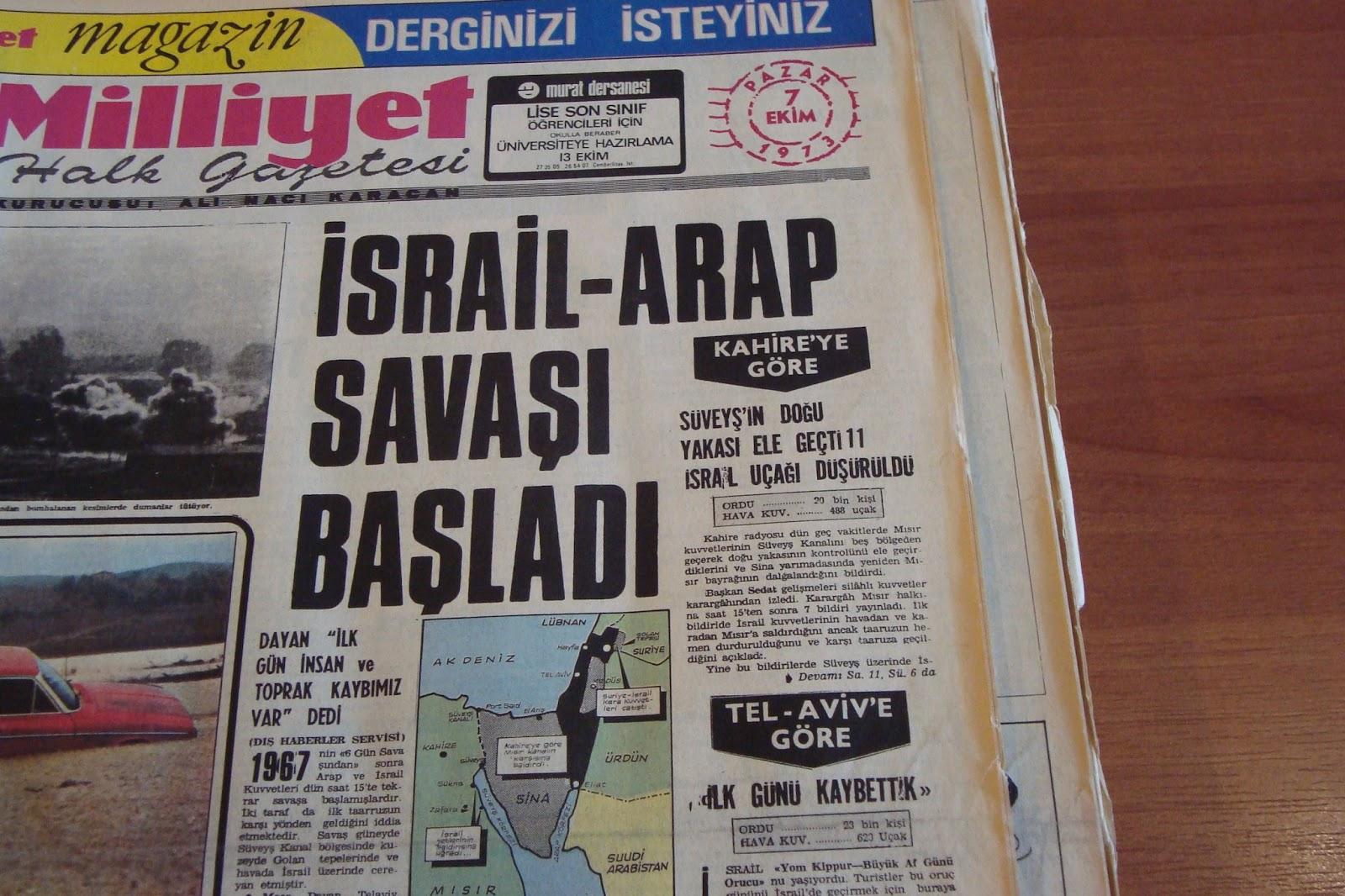 Arap-İsrail çatışması