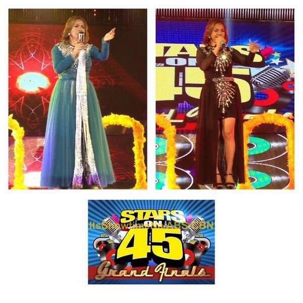 "Heidi Mañosca is It's Showtime ""Stars on 45"" Grand Winner"
