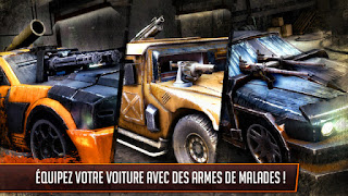 death race course a la mort jason statham iphone jeu