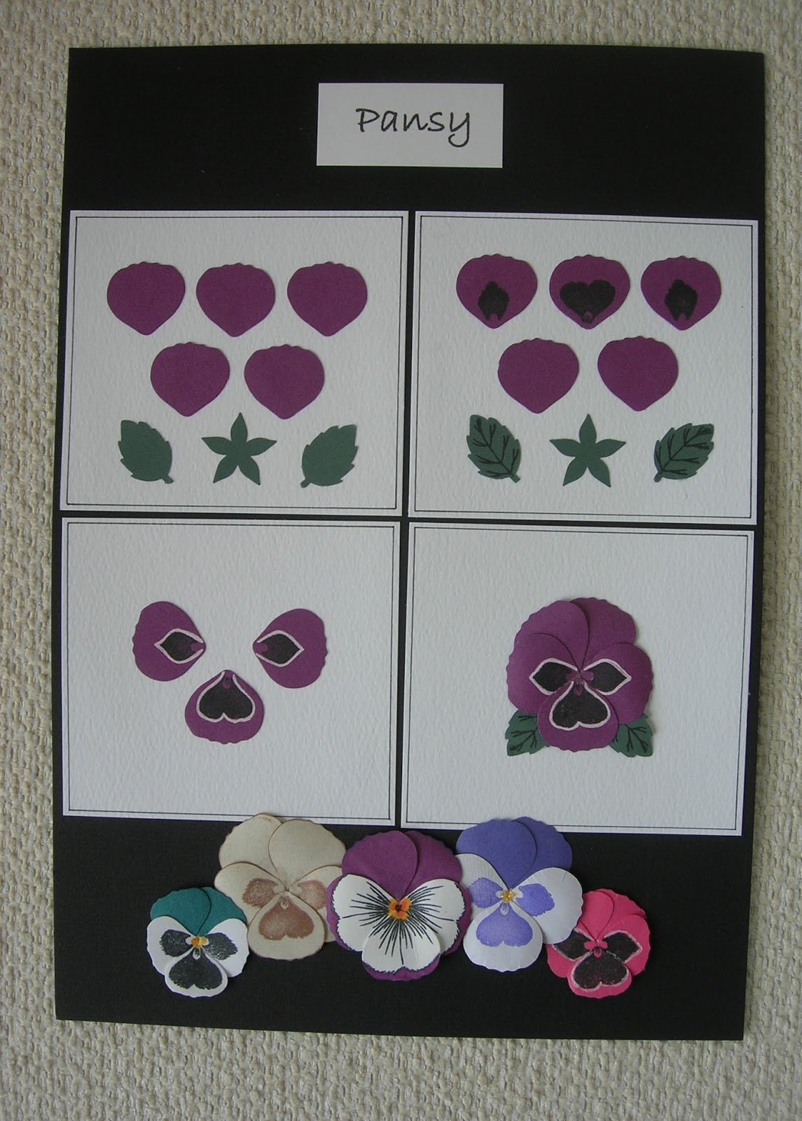 A Passion For Cards Punch And Stamps Lots Of Flowers To Make